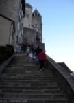 Escalera. Rocamadour