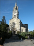Iglesia de Sanguinet. Francia