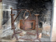 Castillo de Beynac. Cocina