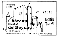 Entrada al Castillo de Beynac