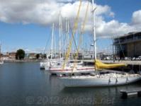Puerto de La Rochelle. Francia