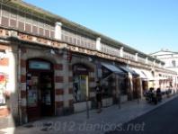 Edificio del mercado. La Rochelle