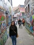 La calle de los graffiti - Werregarenstraa, Gent, Bélgica